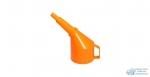 Воронка для бензина пластм. AIRLINE Средняя с сеткой, Цветная
