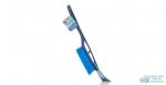 Щетка для снега Kolibriya Crystal-1 со скребком на ручке, ,L-53см 1/25