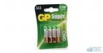 Элемент питания GP LR03 24A Super Alkal BL-4 /40 (4шт)