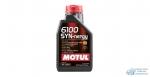 Масло моторное MOTUL 6100 Synergie 5W40 SN/CF полусинтетическое, универсальное 1л