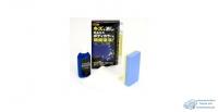 Полироль автомобильный SOFT 99 для кузова, восстанавливающий, для синих автомобилей, комплект (губка, салфетка, перчатка), бутылка, 100мл