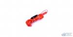 Фонарь-переноска 220v КНР 10м, с выкл., Желтый/красн./ в пакете (Метал.защита)