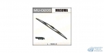 Щетка стеклоочистителя Masuma Optimum 500мм (20) каркасная, с графитовым напылением, 1 шт