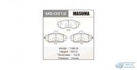 Колодки дисковые Masuma SSANG YONG/REXTON/V2300, V2800, V2900, V3200 front (1/12)