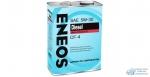 Масло моторное Eneos Diesel 5w30 CF-4 минеральное, для дизельного двигателя 4л