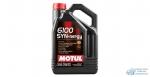 Масло моторное MOTUL 6100 Synergie 5W40 SN/CF полусинтетическое, универсальное 4л
