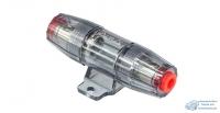 Колба + предохранитель 80А,вход 8-20mm2 (8-4AWG), никелерованный, блистер
