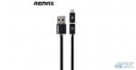 Кабель ReMax AURORA High speed microUSB/iPhone5 Black