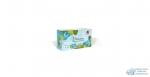 Салфетки бумажные Maneki Dream 2 слоя, белые, 200 шт./коробка