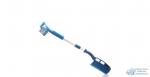 Щетка для снега Kolibriya/Carfort Crystal-8 телескоп., со скребком на ручке,распущ. щетина L-81-108см 1/12