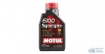 Масло моторное MOTUL 6100 Synergie 10W40 SN/CF полусинтетическое, универсальное 1л