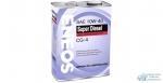 Масло моторное Eneos Diesel SUPER 10w40 CG-4 полусинтетическое, для дизельного двигателя 4л