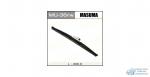Щетка стеклоочистителя Masuma Rear 400мм (16) каркасная зимняя, для заднего стекла, с графитовым напылением, 1 шт