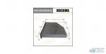 Салонный фильтр AC0119CR MASUMA VOLKSWAGEN/ TIGUAN/ V2000/3600.07- (1/20)