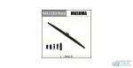 Щетка стеклоочистителя Masuma Optimum 600мм (24) каркасная зимняя, с графитовым напылением, 1 шт