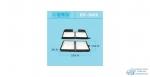 Салонный фильтр AC-1880A//B HEPAFIX (1//40) (2шт.в уп.)