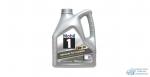 Масло моторное Mobil-1 Advanced 0W20 SN синтетическое, для бензинового двигателя 4л