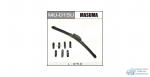 Щетка стеклоочистителя Masuma 375мм (15) бескаркасная, с графитовым напылением, 1 шт