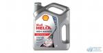 Масло моторное Shell HELIX High Mileage 5W40 SN синтетическое, для бензинового двигателя 4л