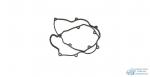 Прокладка клапанной крышки MAZDA WL