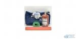 Набор автомобильный Pit-Stop (огнетушитель 2кг, строп лента 3,5т, знак, перчатки), без аптечки