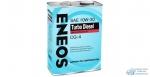 Масло моторное Eneos Diesel TURBO 10w30 CG-4 минеральное, для дизельного двигателя 4л