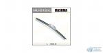 Щетка стеклоочистителя Masuma 300мм (12) бескаркасная, с графитовым напылением, для левого руля, 1 шт