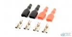 ACV RM37-1433 клемма акустическая D=6.3мм/10-12AWG (4шт упаковка 2красных+2черных)блистер