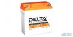 Аккумулятор для мото Delta AGM 5 Ач, CCA 65A, 120*61*129