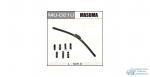 Щетка стеклоочистителя Masuma 525мм (21) бескаркасная, с графитовым напылением, 1 шт