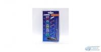 Предохранители имп. Стандарт (5шт), Евро (5шт), ABRO блистер с индикаторной отверткой