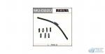Щетка стеклоочистителя Masuma 550мм (22) бескаркасная, с графитовым напылением, 1 шт