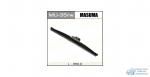 Щетка стеклоочистителя Masuma Rear 350мм (14) каркасная зимняя, для заднего стекла, с графитовым напылением, 1 шт