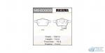 Колодки дисковые MASUMA A4, A6 front (1/6)