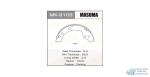 Колодки барабанные MASUMA MK-9103