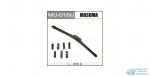 Щетка стеклоочистителя Masuma 400мм (16) бескаркасная, с графитовым напылением, 1 шт