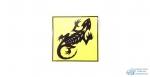 Наклейка Ящер VRC 106 виниловая, размер 12*12 см