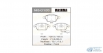 Колодки дисковые MASUMA VOLKSWAGEN/PASSAT, TOURAN/V1400, V1600, V1800, V2000 front (1/6)