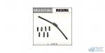 Щетка стеклоочистителя Masuma 475мм (19) бескаркасная, с графитовым напылением, 1 шт