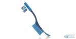 Щетка для снега Kolibriya/Carfort Crystal-6 со Скребком (59,5см)/(56см), распуш. щетина, мягкая ручка 1/16