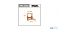 Фасовка Контакт тяг.реле на стартер Masuma 15х24mm Nissan Левый, уп.1шт