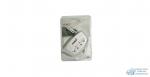 Разветвитель TYPE-S 4 гнезда, с выкл.на каждое гнездо, серебро