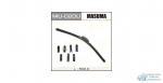 Щетка стеклоочистителя Masuma 500мм (20) бескаркасная, с графитовым напылением, 1 шт