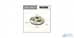 Диск тормозной MASUMA front COROLLA/ ZZE122