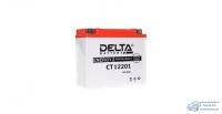 Аккумулятор для мото Delta AGM 20 Ач, CCA 260A, 181*77*167