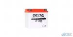Аккумулятор для мото Delta AGM 5 Ач, CCA 80A, 114*69*109