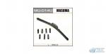 Щетка стеклоочистителя Masuma 350мм (14) бескаркасная, с графитовым напылением, 1 шт
