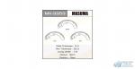 Колодки барабанные Masuma R-5538 (1/_)