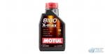 Масло моторное MOTUL 8100 X-max 0W40 SM/SN/CF синтетическое, универсальное 1л