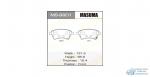 Колодки дисковые MASUMA AN- SUZUKI/ SX-4 06- front